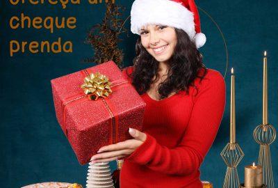 Cheque prenda Natal A. Teixeira Pinto - Pão de Ló de Arouca
